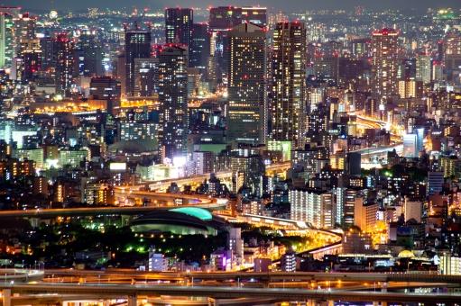 大阪の夜景の写真