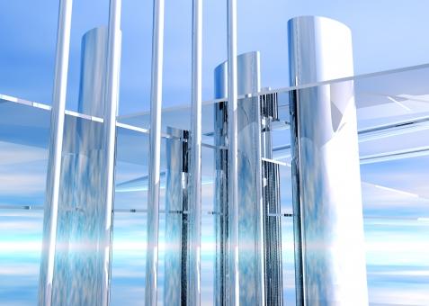 未来 近未来 都市 最先端 IT テクノロジー future イノベーション リノベーション 科学 サイエンス science メタリック メタル 金属 光沢 metal metallic ビル 高層ビル CG 都会 モノリス ビジネス 技術革新 先進 先進性 進歩的 ハイテク technology