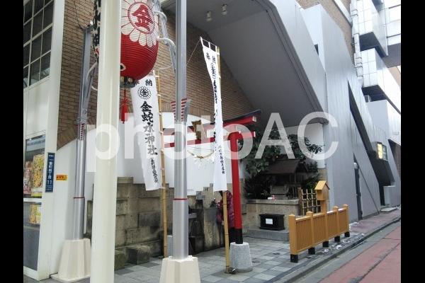 宮城県 仙台市 青葉区一番町にある金蛇水神社の写真