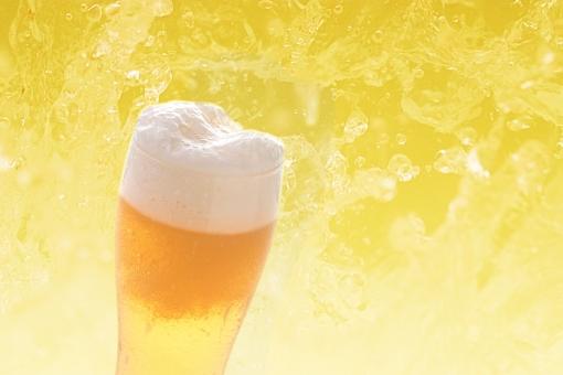 冷えたビール(PSD)の写真