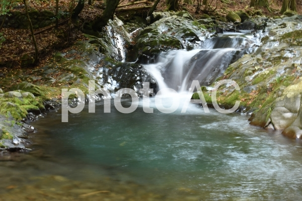 滑沢渓谷の写真
