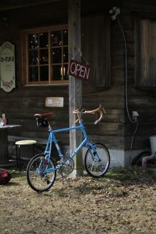 ミニベロ 自転車 カフェ 高原 蒜山 岡山 真庭市 サイクリング ポタリング