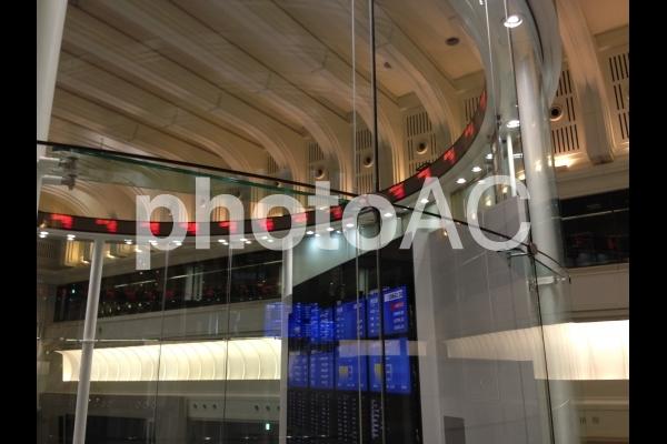 東京証券取引所 Ticker 株価ボード No 481168 写真素材なら 写真