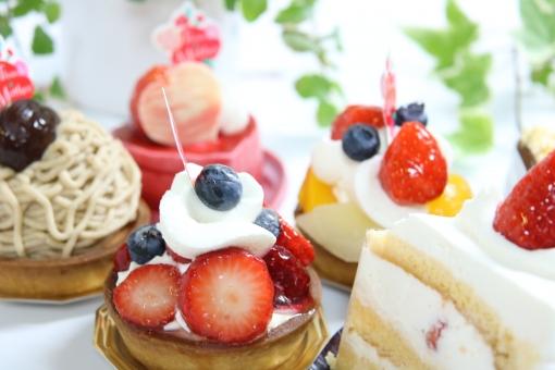 スイーツ ショートケーキ ケーキの写真