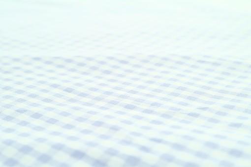 布 織物 チェック 格子 生地 綿 木綿 背景 背景素材 バック パターン バックグラウンド テーブルクロス 柄 模様 テクスチャ テクスチャー 素材 壁紙 テキスタイル 布地 チェック柄 ギンガムチェック カジュアル ナチュラル 水色 ブルー 青色