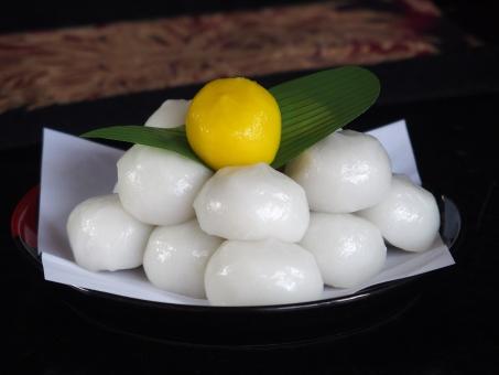 お月見だんご お月見 和菓子 白玉 和菓子 行事 中秋 秋 9月 季節 十五夜 食べ物 日本 文化