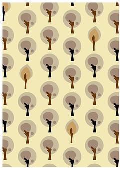 背景 テクスチャ テクスチャー バックグラウンド 背景素材 アップ 模様 正面  ポスター グラフィック ポストカード 柄 デザイン 素材  フレーム 装飾  全面 飾りつけ 北欧風 樹 葉っぱ 葉 植物 樹木 森 ベージュ グレー