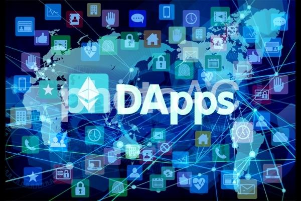 DAppsダップス(非中央集権・分散型アプリケーションとイーサリアム)ネットワークの写真