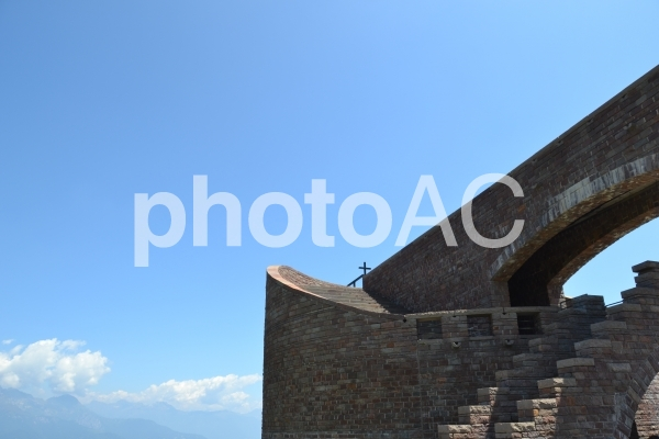 スイス 教会 ルガーノの写真