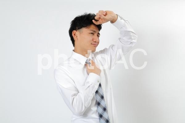 夏のビジネスマン3の写真