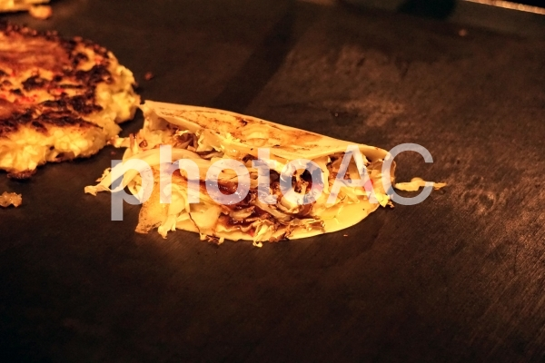 一銭洋食の写真