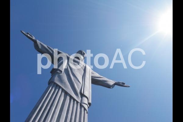 ブラジルのキリスト像の写真
