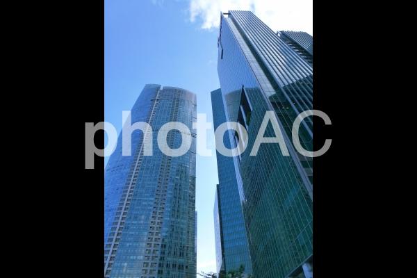 シンガポールの高層ビル の写真