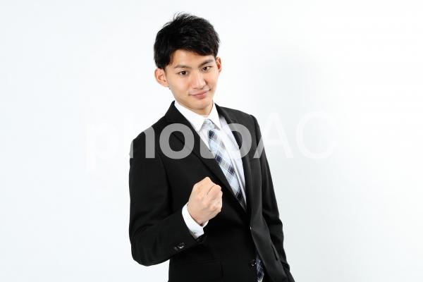 ビジネスマンのハンドサイン8の写真