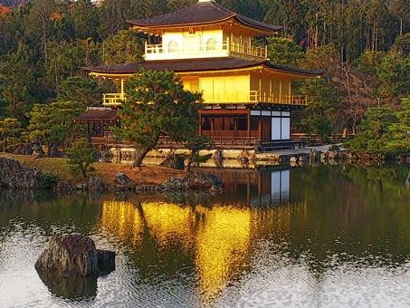 金閣寺の写真素材写真素材なら写真ac無料フリー