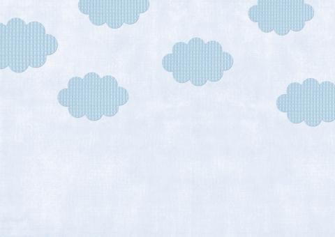 布 パッチワーク 背景 ハンドメイド 素材 空 クロス クラフト 雲 バック 手芸 ワッフル 壁紙 カントリー かわいい テクスチャ テクスチャー カード キルト ナチュラル 青色 青 ブルー blue