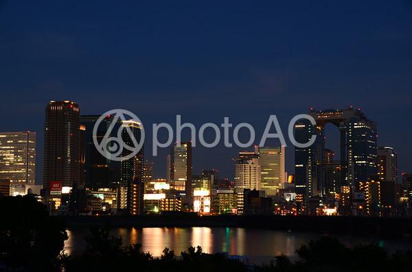 梅田の夜景4の写真