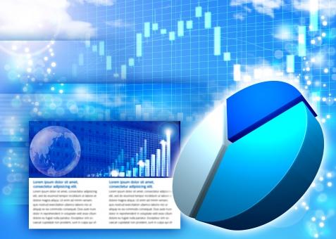 グラフ ビジネス web SEO 円グラフ チャート 青 ブルー blue 企業 会社 経済 ニュース 国際 世界 市況 マーケット 市場 エコノミスト トレンド 売り上げ 情勢 グローバル 営業 事業 取引 貿易 財務 財政 ファイナンス