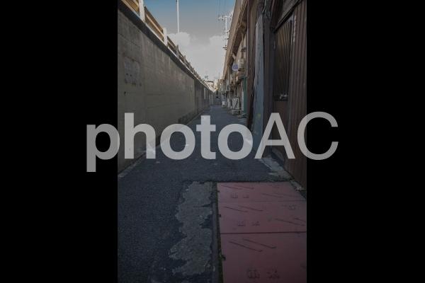 路地裏の写真