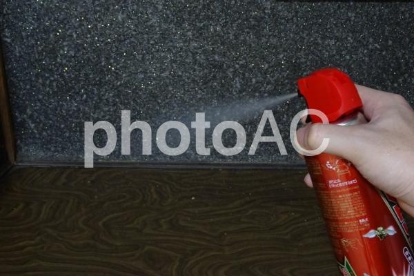 殺虫剤の写真