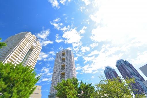 タワーマンションの写真素材|写真素材なら「写真AC」無料(フリー)ダウンロードOK