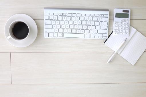 ビジネスイメージ キーボードの写真