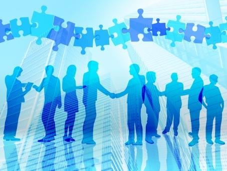 ビル 高層ビル 人脈 パズル アウトソーシング クラウド 協力 ビジネスマン サラリーマン 握手 人事 移動 入社 男性 ネット 社会人 ネットワーク 企業 会社 商談 チームワーク マネジメント プレゼン 提携 プレゼンテーション 営業 ジグソー パーツ