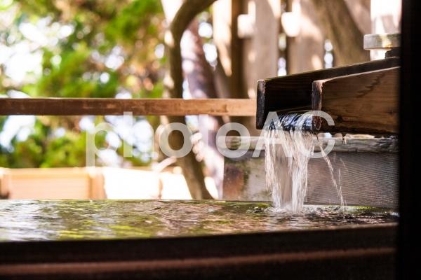 厳選かけ流しの温泉1の写真