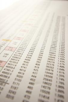 ビジネス 資料 データ DATA data 書類 数字 数値 管理 表 リスト エクセル パソコン 入力 作業 仕事 会社 企業 営業 売上 利益 推移 業績 成績 商品 製品 集計 販売管理 情報処理 計算