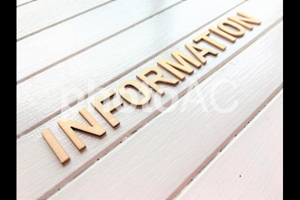 INFORMATIONの写真