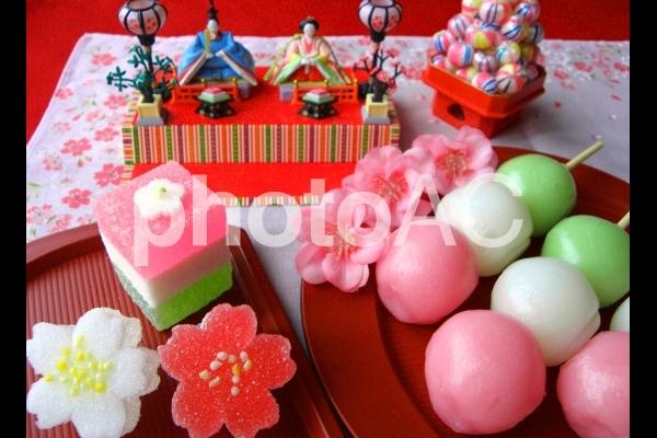 雛祭りの写真