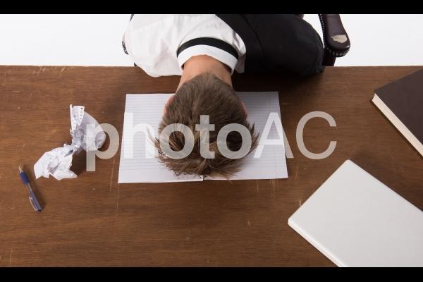 悩んでるビジネスマン10の写真