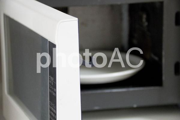電子レンジの写真