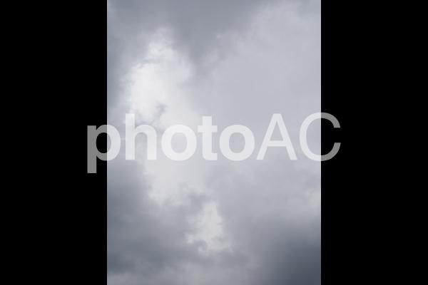 曇り空の写真