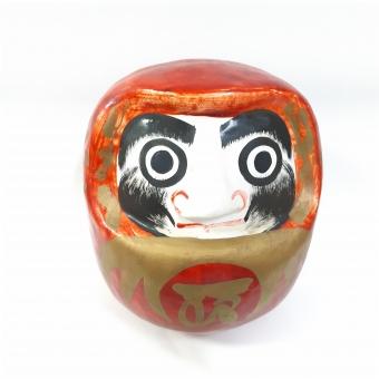 成功 おもちゃ 達成 赤 楽しみ 和風 1 美術 正月 だるま 達磨 鮮やか 幸運 粘土 祝い事 日本的 伝統的な 当選 オーナメント(アート) 記念の品 華やかです 美術工芸