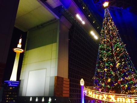 京都タワー イルミネーション