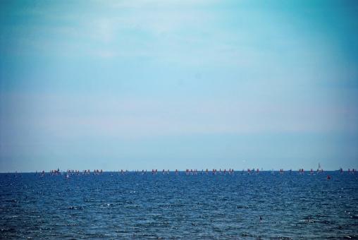 神奈川県 逗子市 マリーナ 相模湾 ヨット 船 海 空 風景