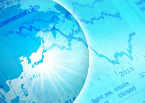 テクスチャ テクスチャー ビジネス 背景素材 背景 バックグラウンド グローバル 地球 地図 経済 金融 ワールド マップ 日本 日本経済 円 チャート グラフ 景気 不景気 好景気 世界経済 世界情勢 新聞 取引 レート 投資 マネー トレーダー 高騰