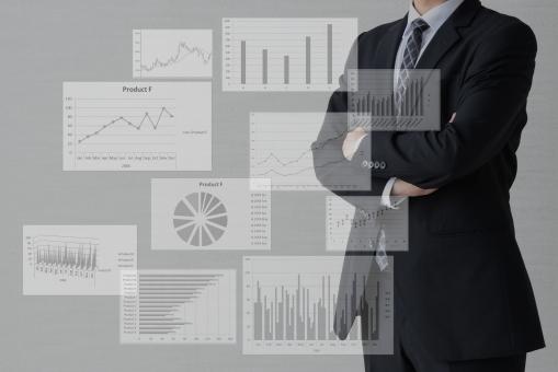 ビジネスイメージ―分析の写真