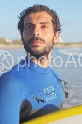 サーファーの外国人男性11の写真