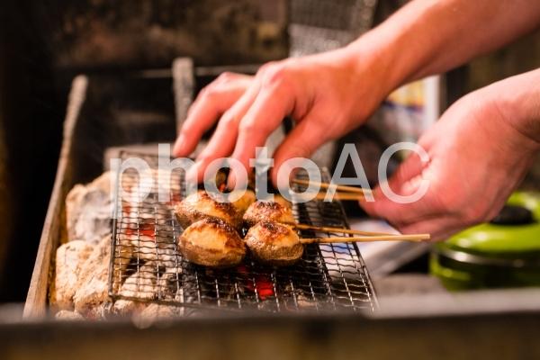 焼き鳥・串焼きの写真