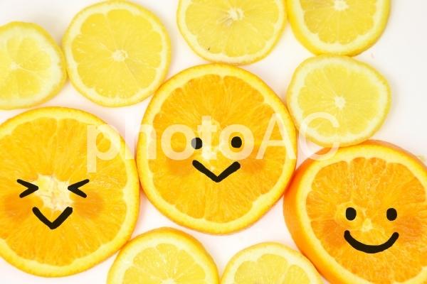 食べ物に表情3の写真