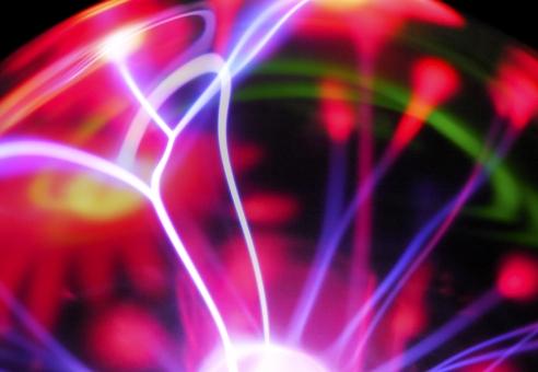 プラズマ ネオン 光 イルミネーション 赤 緑 背景 背景素材 バックグラウンド テクスチャ テクスチャー 光跡 青