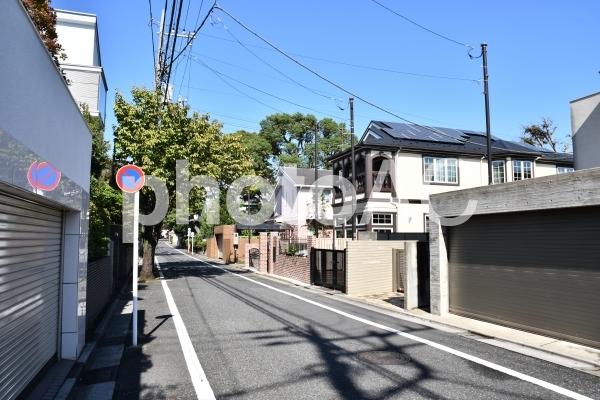 成城学園の街並みの写真