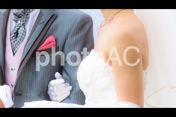 新婚の写真