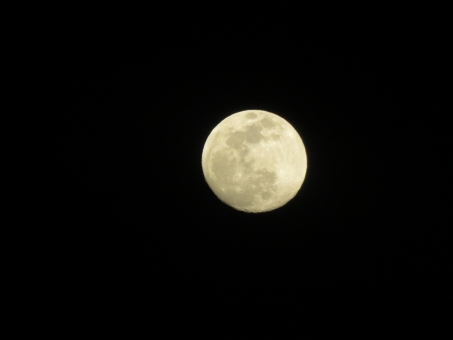 八十八夜 夜空 月 宇宙 2015年 5月2日 満月