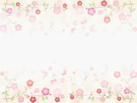 梅 うめ ウメ 背景 風景 景色 梅の花 梅の背景 壁紙 壁画 テクスチャ 春 正月 雛祭り ひな祭り 年賀状 鮮やか シンプル 花の背景 年賀状素材 正月背景 正月素材 バックグラウンド