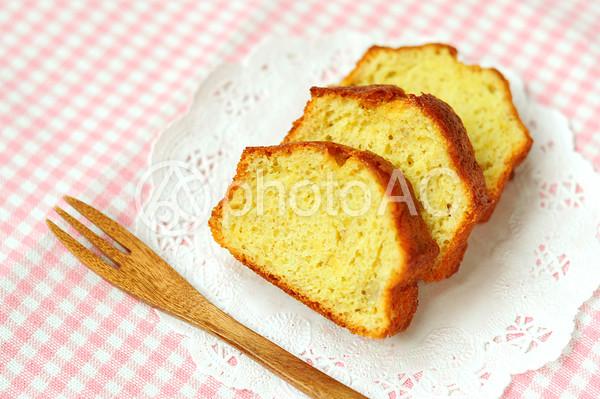 パウンドケーキの写真