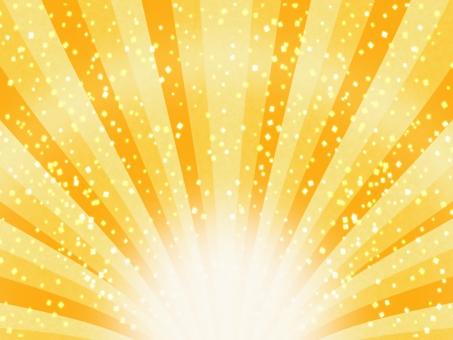 背景 壁紙 光 放射 集中線 集中 注目 発表 紙ふぶき 紙吹雪 ゴールド 和 和風 和柄 キラキラ どどーん ぴか~ん バナー 見出し POP ポップ 正月 初売り 売り出し 年賀状 セール お正月 豪華 祝福 お祝い