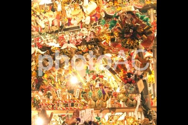 お祭り 酉の市の写真